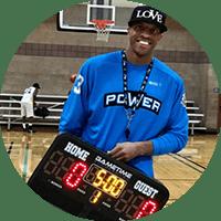 Jerome JYD Williams Gametime portable scoreboard testimonial image